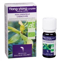 DOCTEUR VALNET Huile essentielle bio Ylang-ylang 10ml