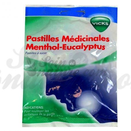 vicks pastilles menthol eucalyptus 18 pastilles. Black Bedroom Furniture Sets. Home Design Ideas