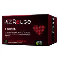 Santé-Verte Levure de Riz Rouge 600mg Co-enzyme Q10