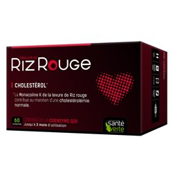 Verd de la salut d'arròs vermell 600 mg de llevat