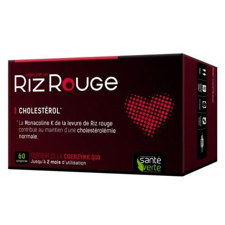 Verde de la salud de arroz rojo 600 mg de levadura