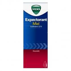 VICKS sirop Expectorant GUAÏFENESINE Toux grasse