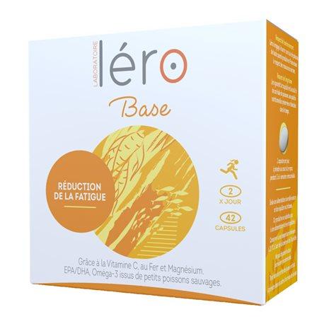 LERO BASE réduction fatigue 42 capsules