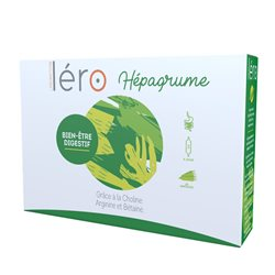 LERO HEPAGRUME digestion detox foie Ampoules buvables