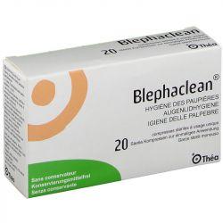 Blephaclean hygiène des paupières compresse