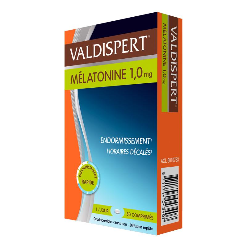 Valdispert MELATONINA 1mg 50 comprimidos bucodispersables