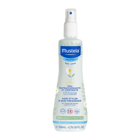 Mustela 200ml water refreshing and Styling