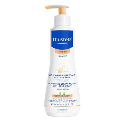 300 ml Mustela Bebé Gel Limpiador Nutritivo Crema fría