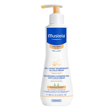Mustela Gel Lavant Surgras Bébé Cold Cream 300ml