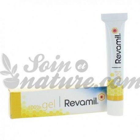 REVAMIL gel cicatrisant MIEL PUR 100% plaies chroniques ou infectées