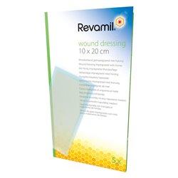REVAMIL compresse au Miel WOUND DRESSING 10X20CM/5U