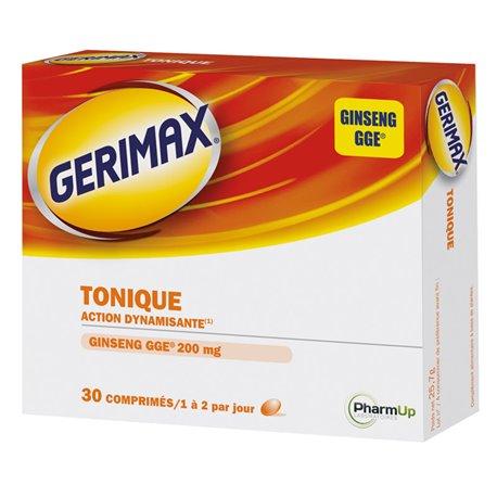 GERIMAX TONIQUE Ginseng 30 comprimés