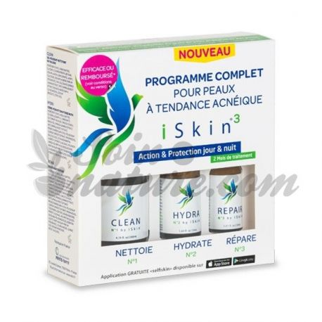 ISKIN3 programa complet contra l'acne
