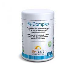 BIOLIFE FE COMPLEX carence Fer 60 GÉLULES
