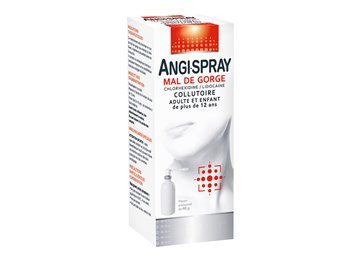 ANGISPRAY SORE THROAT MERCK MOUTHWASH ADULT 40ML