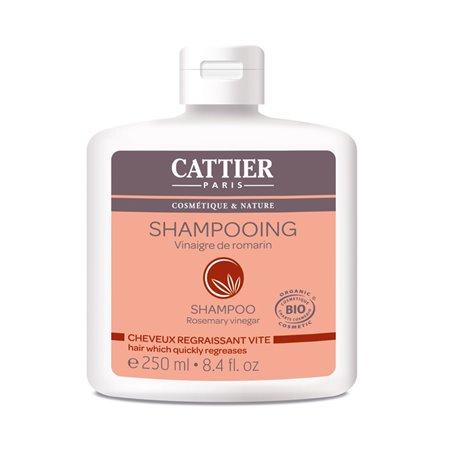 CATTIER Shampooing CHEVEUX GRAS VINAIGRE ROMARIN 250ml