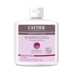 Cattier Shampoing Bio à la Moelle de Bambou Cheveux Sec 250 ml