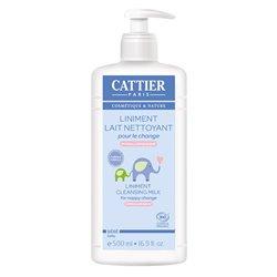 Cattier Liniment Lait Nettoyant Bébé 500 ml