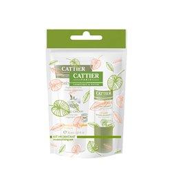 CATTIER KIT HIVER STICK Lèvre +Crème mains 30ML