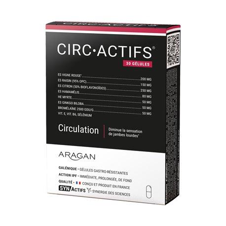 SYNACTIFS CIRCACTIFS Circulation 30 gélules