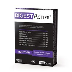 SYNACTIFS DIGESTACTIFS Digestion 30 gélules
