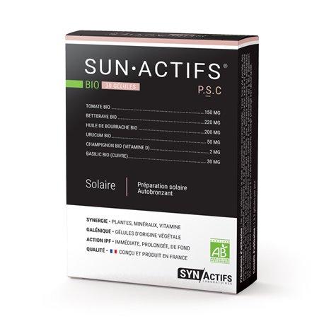 SYNACTIFS SUNACTIFS Prévention solaire 30 gélules