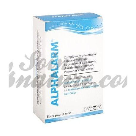 ALPHALARM 60 Capsules hydratantes vision oculaire
