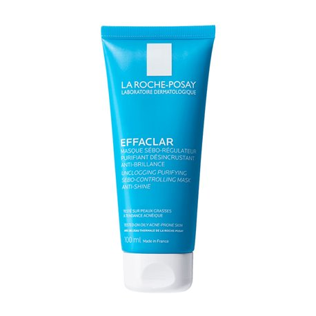effaclar mask sebo regulator 100ml la roche posay. Black Bedroom Furniture Sets. Home Design Ideas