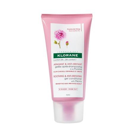 Klorane Beruhigende Shampoo mit Pfingstrose Extrakt 400ML Flasche