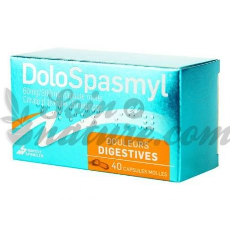 DOLOSPASMYL colopathie fonctionnelle 40 Capsules