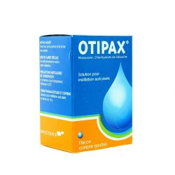 Otipax Solution Instillation Auriculaire 15ml