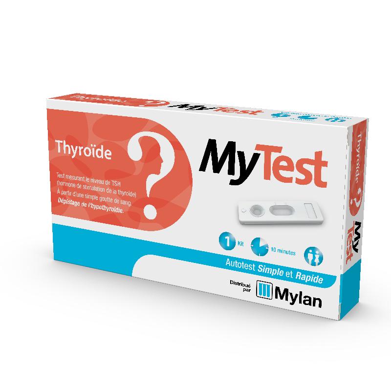 rastreio MeuTeste Mylan Teste tiróide TSH de hipotiroidismo um kit