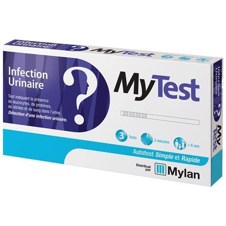 Mylan MyTest test urinary infection cystitis 3 kits