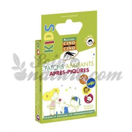 CINQ/CINQ NATURA 20 PATCH APAISANT ENFANT piqûre moustique