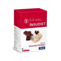 INSUDIET BARRE CHOCOLAT CÉRÉALES 12X31G
