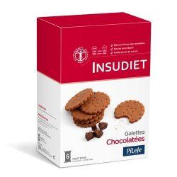 INSUDIET GALETTES CHOCOLATÉES 6X48G
