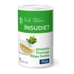 INSUDIET OMELETTE FROMAGE FINES HERBES 300G