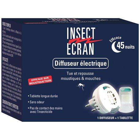 Insect Ecran Anti Moustiques Diffuseur Électrique