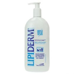 LIPIDERM Emulsion hydratante relipidante peaux sèches atopiques 125ml