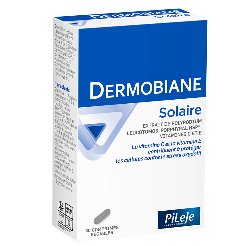 PILEJE DERMOBIANE SOLAIRE 30 Tablets | PiLeJe Command