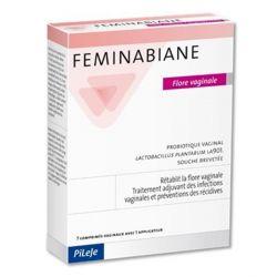 FEMINABIANE FLORE VAGINALE 7 COMPRIMÉS VAGINAUX