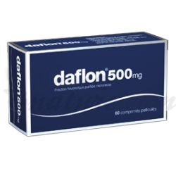 Distúrbios do Movimento Daflon 500 mg 60 Cápsulas