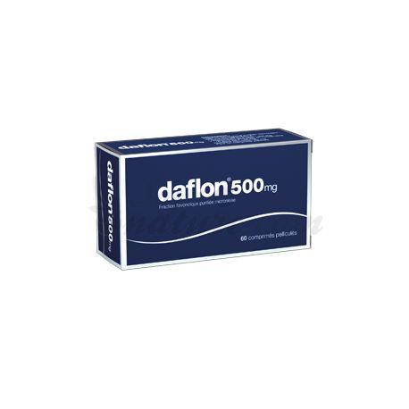 Distúrbios do Movimento Daflon 500 mg 60 Cápsulas