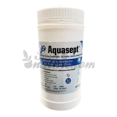 AQUASEPT 60 TABLETS EFERVESCENTS WATER TREATMENT BAYER