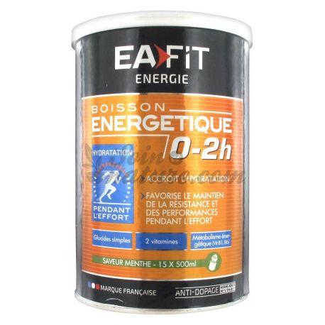 EAFIT ENERGIE BOISSON ENERGETIQUE 0-2H MENTHE 500G