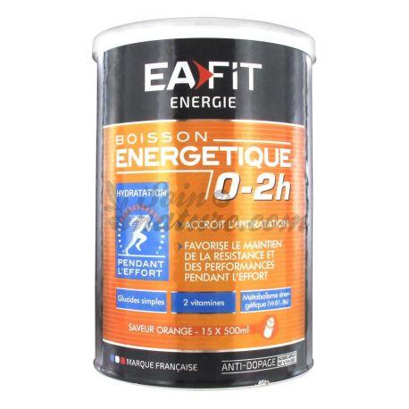 EAFIT ENERGIE BOISSON ENERGETIQUE 0-2H ORANGE 500G