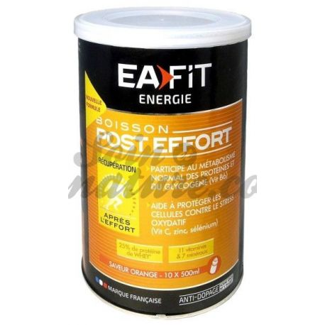 EAFIT ENERGIE BOISSON POST-EFFORT ORANGE 457G