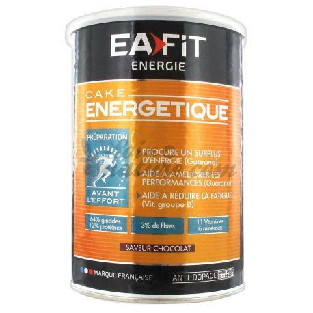 EAFIT ENERGIE CAKE ENERGETIQUE CHOCOLAT 400G