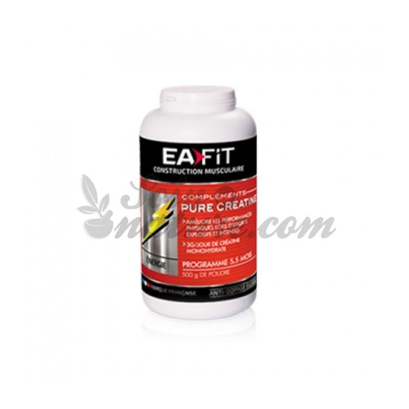 EAFIT PURE CREATINE POWDER 500G for sale in our organic