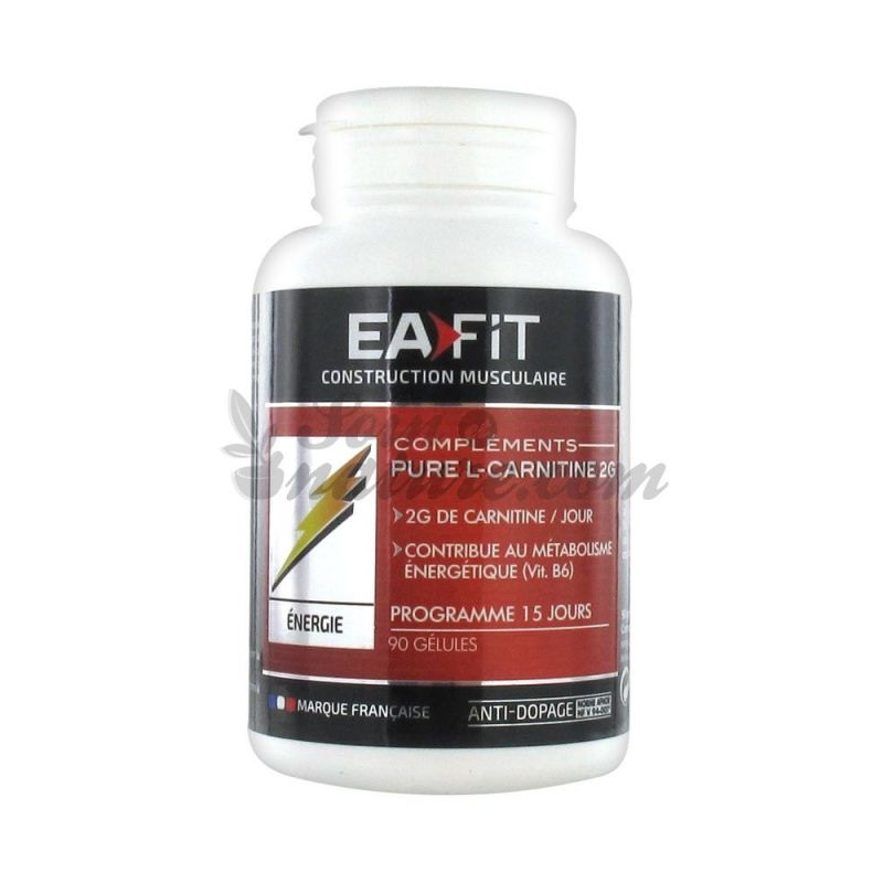 EAFIT PURE L-CARNITINE 2G 90 capsules for sale in our